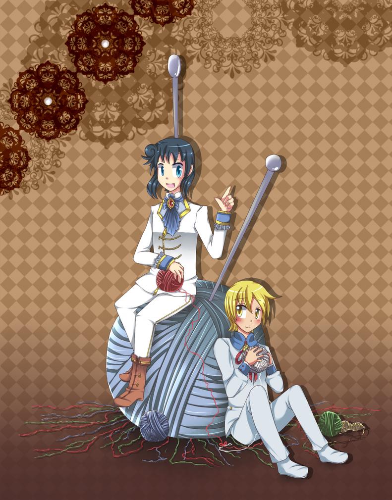 SS: A little woolen ribbon by Tekuu