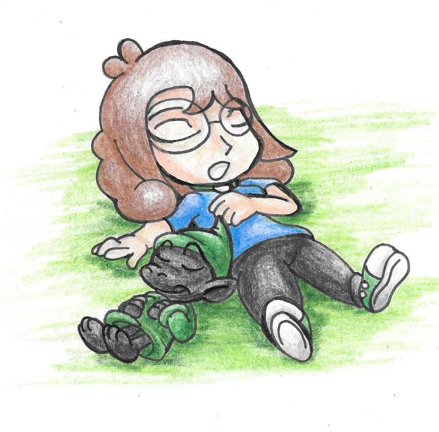 Gift Art: Ashley and Kaz Catch some Zs by Waver92 on ...