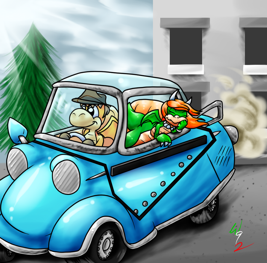 Point Commission: Nice Dayride by Waver92