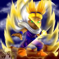 Commission: Akira the Super Saiyan