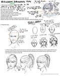 Random Face Drawing Tips