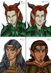 Game Character Portraits 1-4