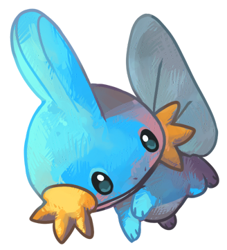 Silver's Records Mudkip_by_cheepers-d46kd61