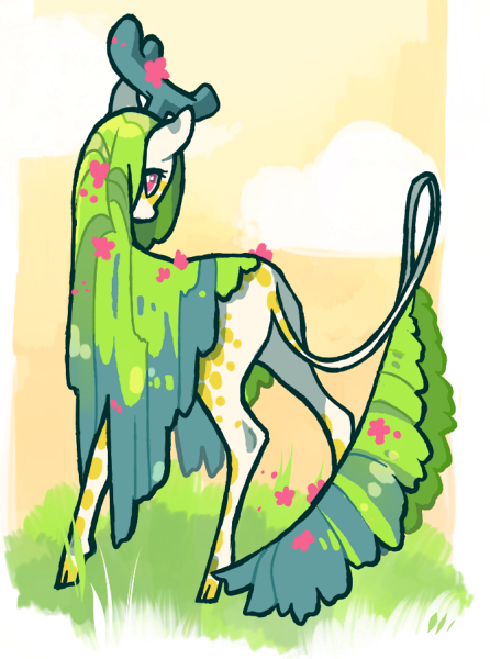 Spring Kirin by cheepers