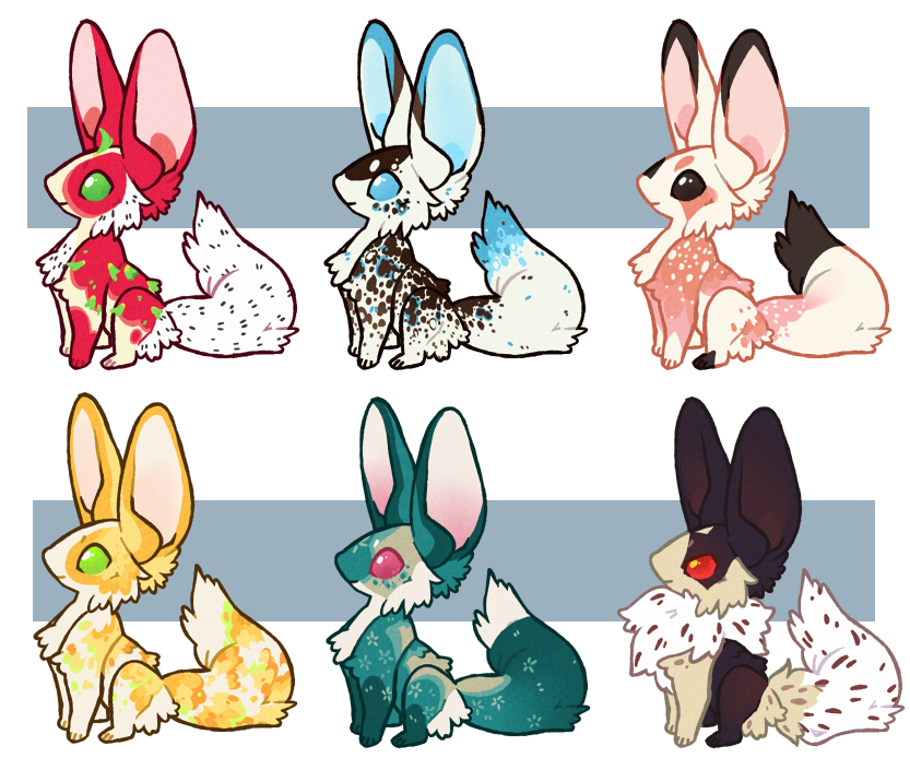 Foxmice Adopts (closed) by cheepers