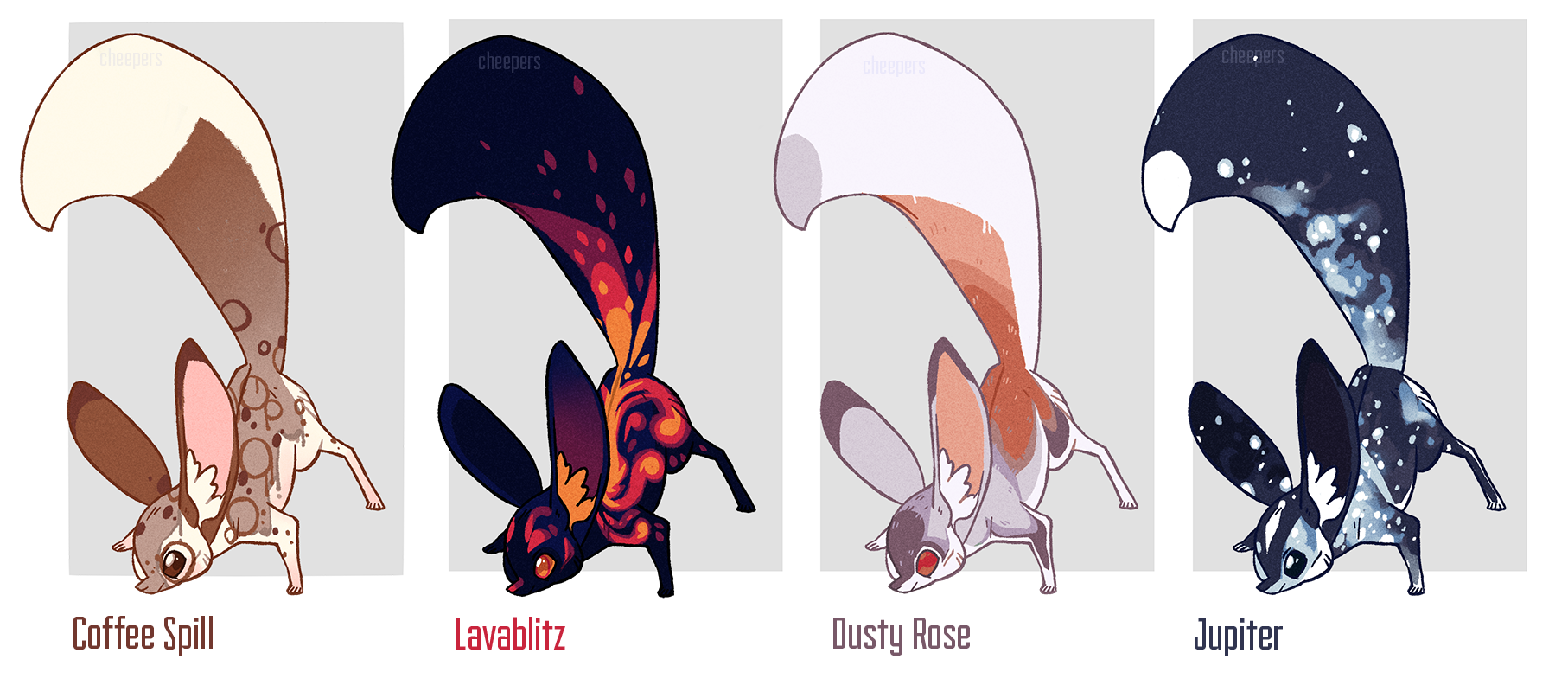 Desert Foxmouse Design Auction by cheepers