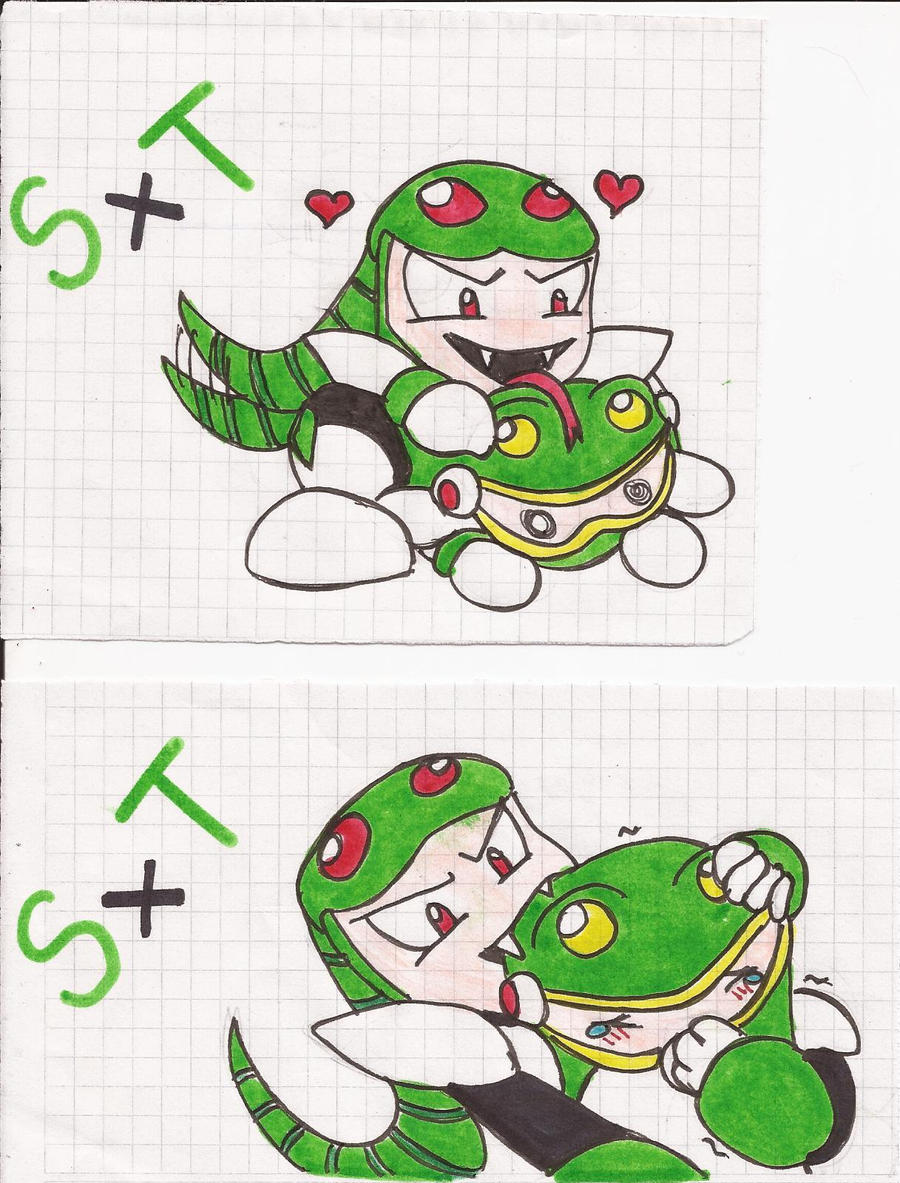 Snakeman and Toadman by NalaTheWarrior on DeviantArt: nalathewarrior.deviantart.com/art/Snakeman-and-Toadman-330714966