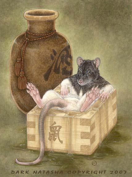 Year Of the Rat by darknatasha