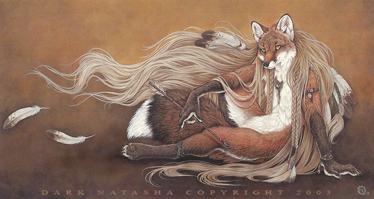 Волки и лисы арты