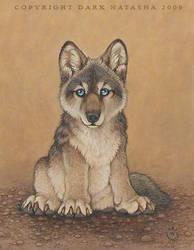 Wolf Pup by darknatasha