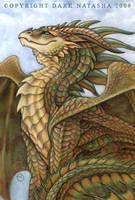 Bronze Dragon by darknatasha