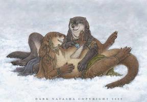 Snow Play by darknatasha