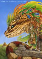 The Return Of Quetzalcoatl by darknatasha