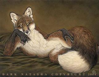 Red Fox by darknatasha