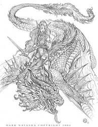 Dragon Rider by darknatasha