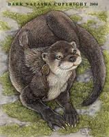 Little Otter by darknatasha