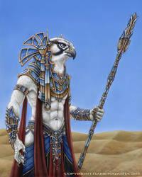 Horus by darknatasha