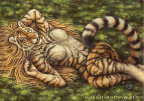 Spring Tigress by darknatasha