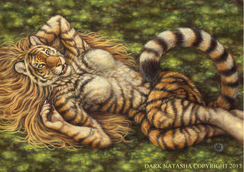 Spring Tigress by darknatasha