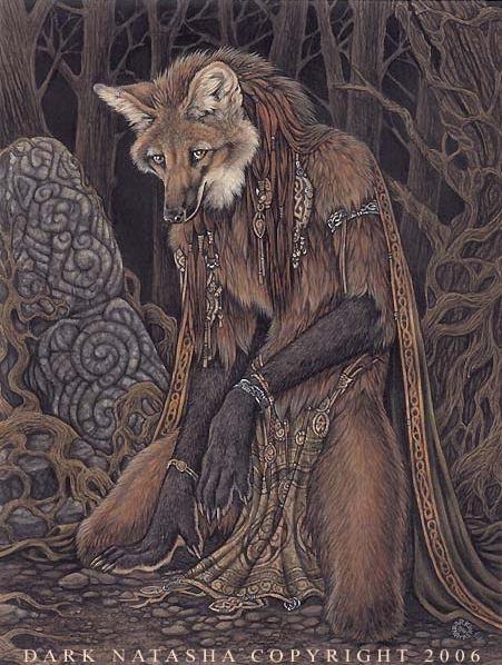 Elementalist Maned Wolf By Darknatasha On Deviantart