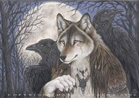 Mystic Moon by darknatasha
