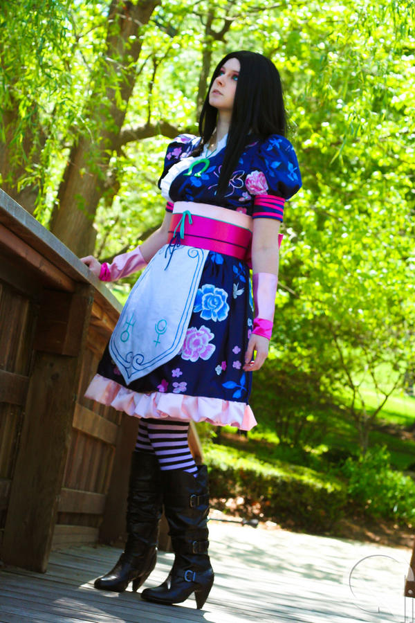 Alice Madness Returns: Oriental Grove by ChromaCosplay