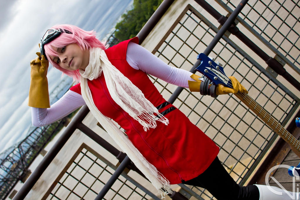 Days Under the Bridge - FLCL by ChromaCosplay