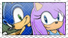 SonicxTasha stamp by GreatBlueSkies