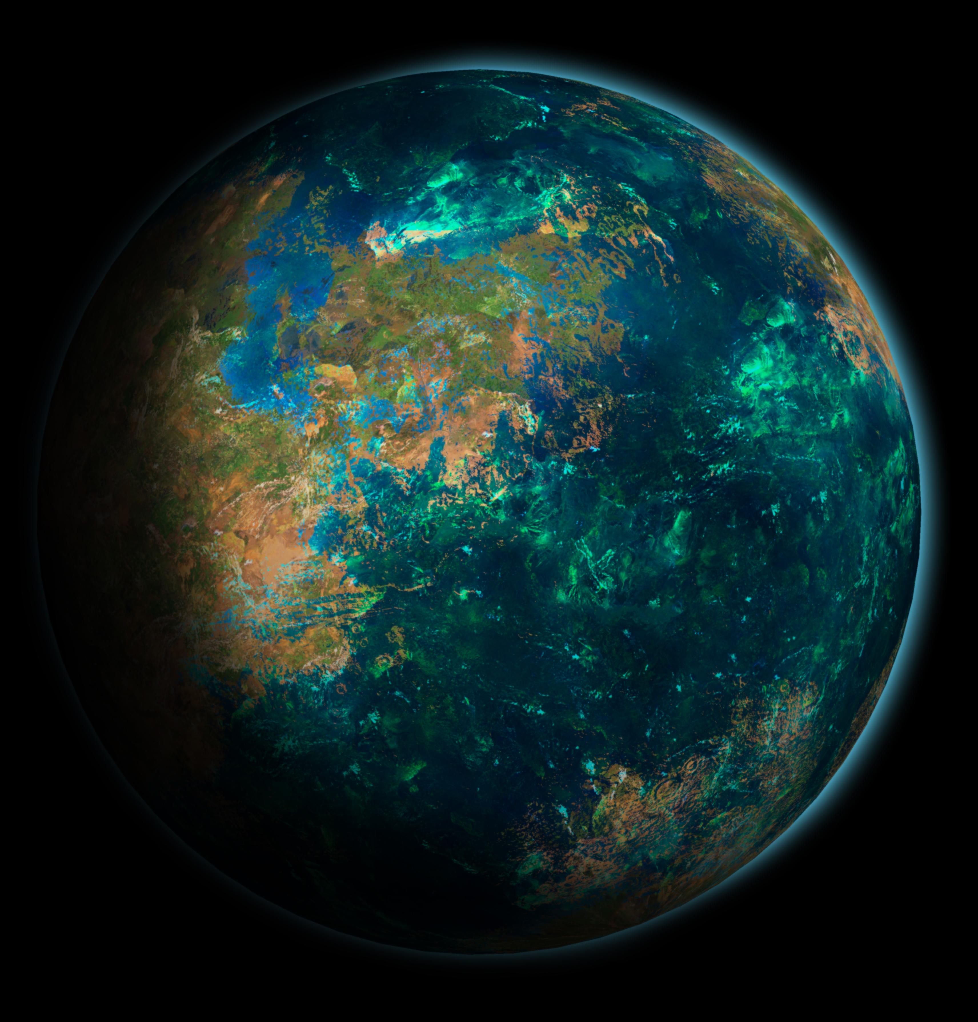 Mars Terraforming: Terraformed Mars By Midgardsorm On DeviantArt