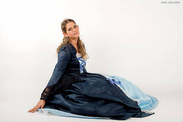 Princess in the Blue Dress