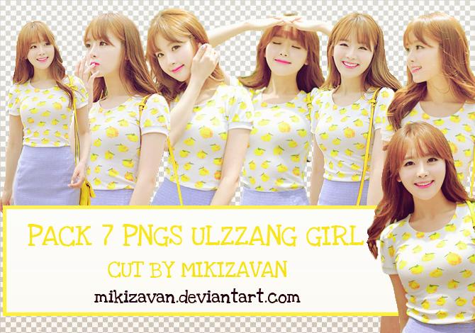 Pack PNGS Ulzzang #33 by Mikizavan