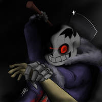 Horrortale Sans by LeleYume