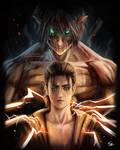 Eren and the Attack Titan