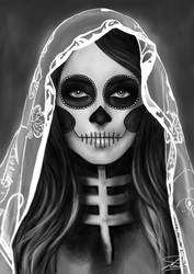 Day of the dead by Jaelle