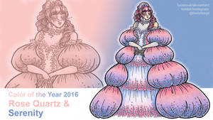 Color of the Year 2016: Rose Quartz/Serenity