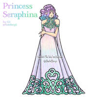 Princess Seraphina by thelettergii