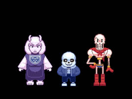 Undertale Semi Improved Sprites by Vikra-Archive