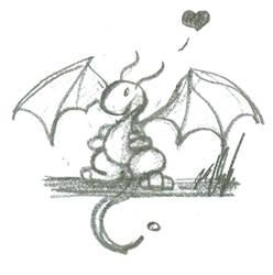 Love Dragon by Nailkita