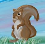 Squirrel! by Nailkita