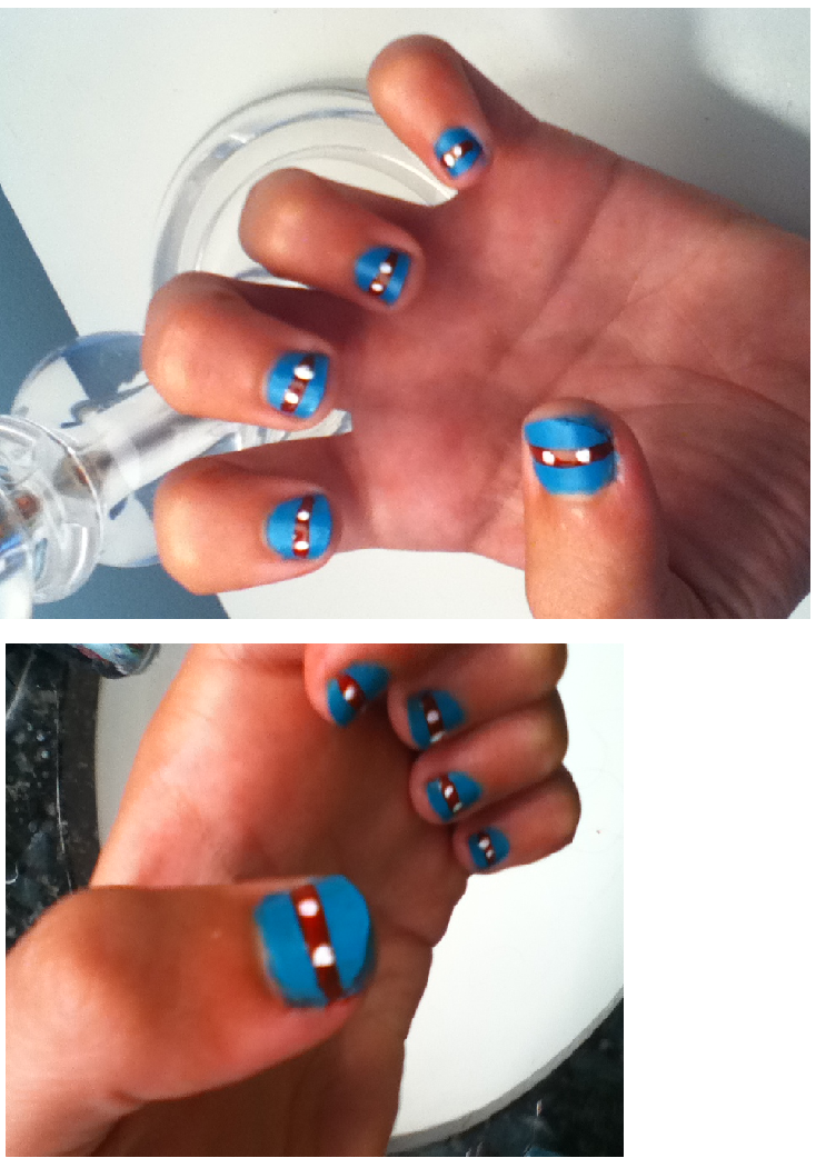 Teenage Mutant Ninja Turtle Nails by chocolate-chippy on DeviantArt