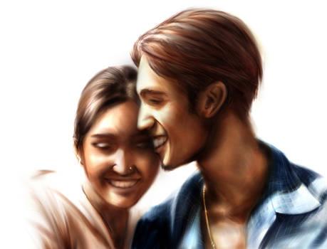 Lakshan and Sandhya