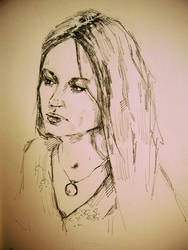 self-portrait by IsabellaMorte666