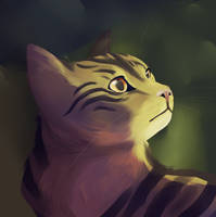 a cat by lemonboyy