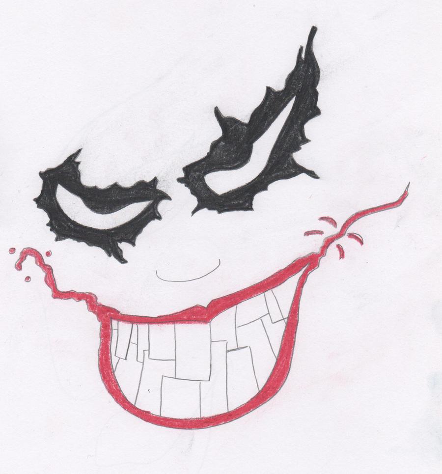 Joker Face Drawings 37979