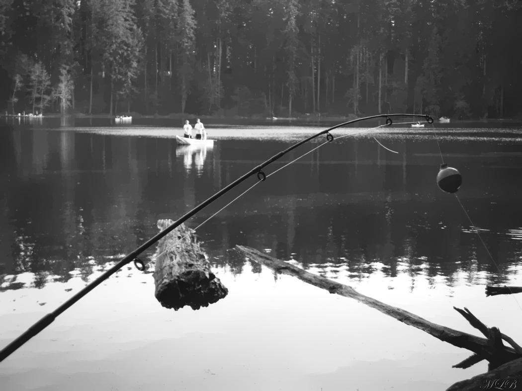 Gone fishin 39 by star3struck on deviantart for Battle ground lake fishing