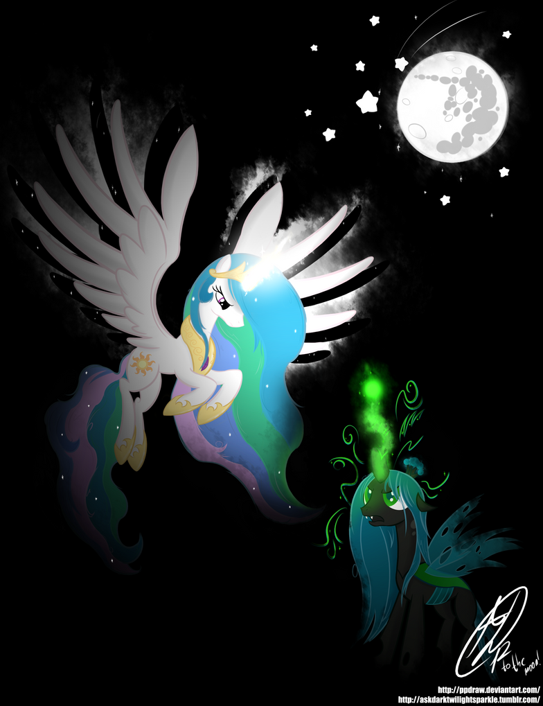 I'll send you to the moon! by PPDraw