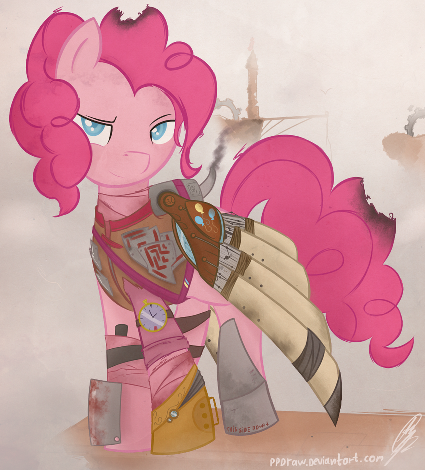 steampunk Pinkie Pie by PPDraw