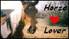 'Horse Lover' stamp by Horsesnhurricanes