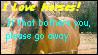 'Please Go Away' XD by Horsesnhurricanes