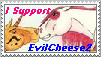 EvilCheese2 Request Stamp :D by Horsesnhurricanes